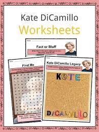Kate DiCamillo Facts, Worksheets, Novels & Biography For Kids