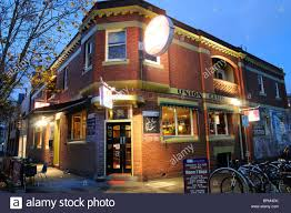 The Union Club Hotel Fitzroy Melbourne Australia Stock