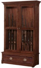 Wood Gun Cabinets. Wooden Gun Cabinet Blueprints. 12 Gun And Bow ...