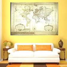 paintings for office walls. Global Wall Art Artwork For Office Walls Classical Retro Map Home Decorations Prints Canvas Painting World Nz Paintings D