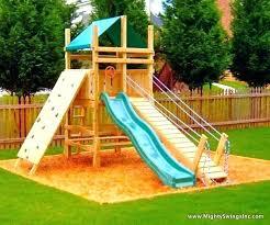 small backyard playground swing sets designs for kids set best swing set designs playhouse swing set diy wood swing