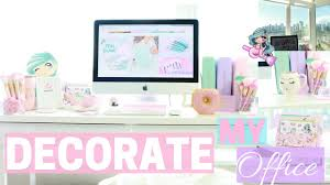 DECORATE MY OFFICE WITH ME SLMissGlam YouTube