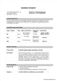 Sample Resume For Download Sample Resume Format Download India Resume Resume Examples 19