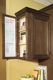 wall message center cabinet kemper