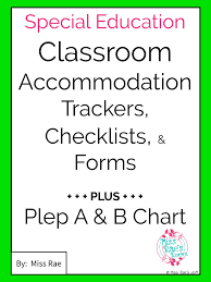 Special Education Accommodations Chart Executive Functioning Student Skills Accommodations Iep