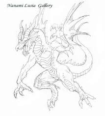 ドラゴンイラストoriginal 七海ルシアイラストギャラリー Horse And