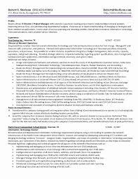 Project Manager Resume Samples Fresh Project Coordinator Resume