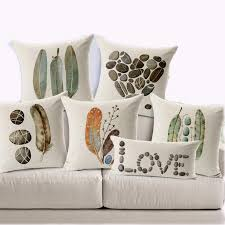 custom pillow covers. Exellent Covers 45X45cm Feather Stone Custom Pillow Covers Candy Color Throw Pillows Cases  Flower Decorative Giftin Case From Home U0026 Garden On  Throughout R