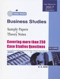 final touch business studies sample papers theory notes for  business studies final ouch