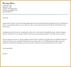 How To Write Sick Leave Letter Choice Image Letter Format Formal