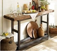 Console tables rustic