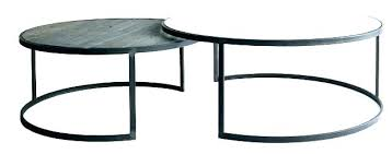 round glass nesting coffee tables nested table impressive black nest