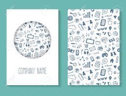 Social Media Brochure Business Card Template