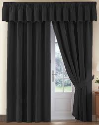 thermal velour velvet curtains finished in rose 46 wide x 42 drop co uk kitchen home