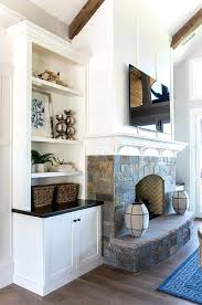 stone fireplace with built ins shining fireplace built in cabinets wonderful decoration best ins ideas on
