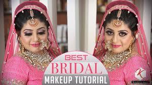 best bridal makeup tutorial step by step indian bridal makeup tutorial videos krushhh by konica