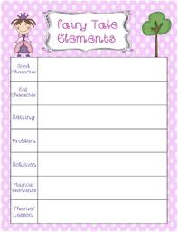 Elements Of A Fairy Tale Fairy Tale Elements Worksheet By While Teaching Lilly Tpt