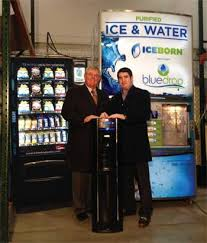 Water Bottle Vending Machine Amazing Father And Son Team Acquires Bluedrop Maker Of 'FillYourOwn