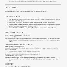 College Graduates Resume College Graduate Finance Resume Example