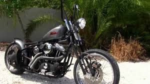used 2003 harley davidson xl883 custom bobber motorcycle for sale