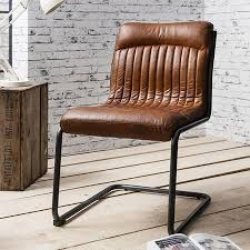 industrial office chair. Capri Leather Chair - Industrial Office In Antique Tan E