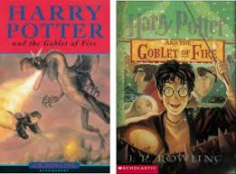 harry potter goblet of fire childrens book covers