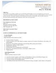 Yasnay Amitai Nursing Resume 1