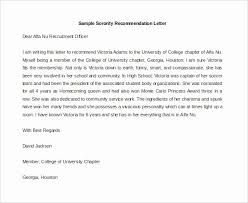 30 Sample Sorority Recommendation Letter Hamiltonplastering