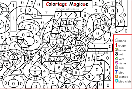 Les Coloriages Magiques 7 On With Hd Resolution 1605x1091 Pixels