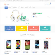 Free Ecommerce Website Templates Awesome Download Free HTML ECommerce Templates For Online Shopping Websites