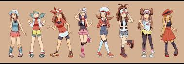 Pokemon X And Y All Characters