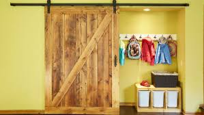entryway sliding barn door