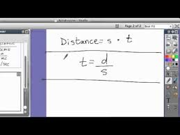 physics solving for speed distance and time formula physics solving for speed distance and time formula