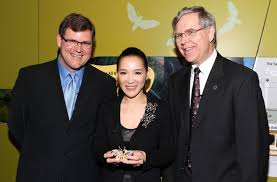 Cindy Chao, Kirk Johnson, Jeffrey Post - Kirk Johnson Photos - CINDY CHAO  Royal Butterfly Brooch Accessioned Into The Smithsonian - Zimbio