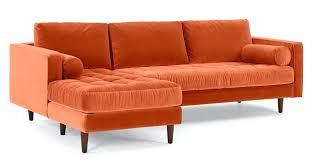 home and furniture magnificent orange sofa bed at friheten corner with storage skiftebo dark ikea