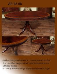 how many can you seat at a 48 round table designs
