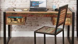 attractive wooden office desk. Attractive Reclaimed Wood Office Desk Intended For Furniture Urban Wooden I