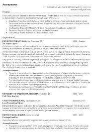 Profile In Resume Cool Resume Profile Examples Best Sample Resume