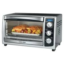 countertop oven convection oven black chrome rack front standard toaster oven recipes healthy
