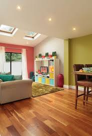 Bright Open Plan Rooms Can Afford To Go Wild With Colour Coral Inspiration Bright Colors For Living Room Exterior