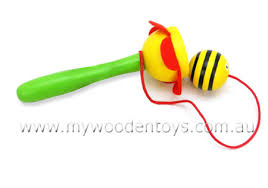 Wooden Ball And Cup Game Amazing Wooden Bee Ball Cup Game At My Wooden Toys