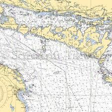 Ontario Nautical Charts North Channel Benjamin Island Ontario Canada Manitoulin Island Nautical Chart Decor