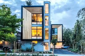 narrow modern homes small lot designs st infill modular townhouse