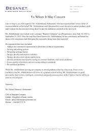 Recommendation Letter For Programmer Job Recommendation Letter
