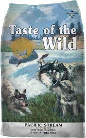 Taste Of The Wild Pacific Stream Puppy Formula Grain Free Dry Dog Food 5 Lb Bag