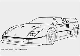 Car Coloring Pages For Adults Fresh Coloriage Ferrari F40 Coloring