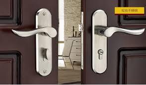European Style Bedroom Door Lock Room Door Lock Handle Double Tongue