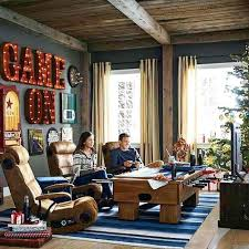 video gaming room furniture. Game Room Furniture Ideas Rustic Fun Living Video Decorating Gaming G