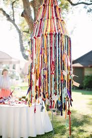 this new yarn wedding decor trend is perfect for fall and winter brit co