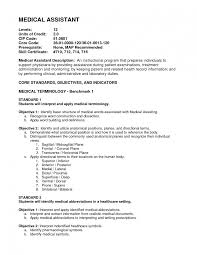 Resume Objective Template Healthcare Bongdaao Com For Medical